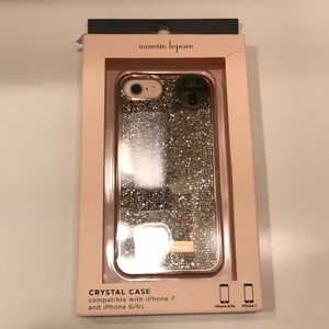 Crystal case fits iphone 6 /6s 7 (maybe 8)
